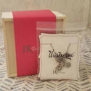 Monogram Initial Necklace K by Thirty One